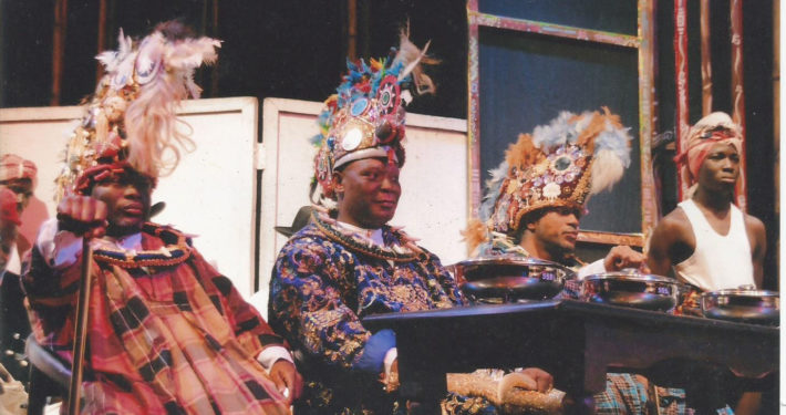 King Dokubo at the feast