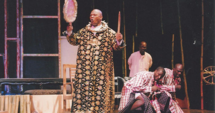 King Dokubo in outrageous mode